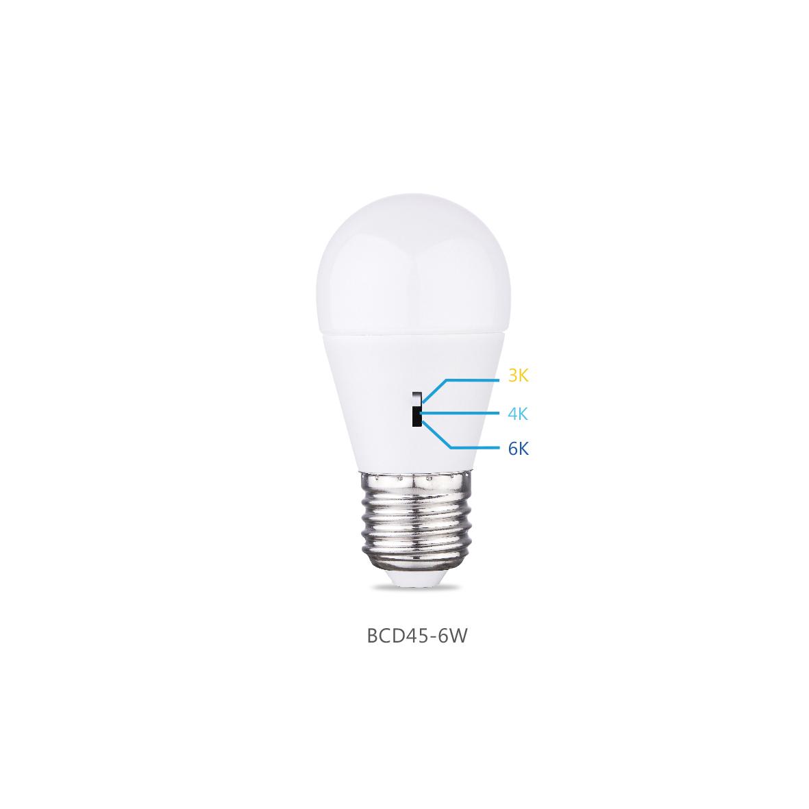 3CCT Patent Bulb BCD45-6W