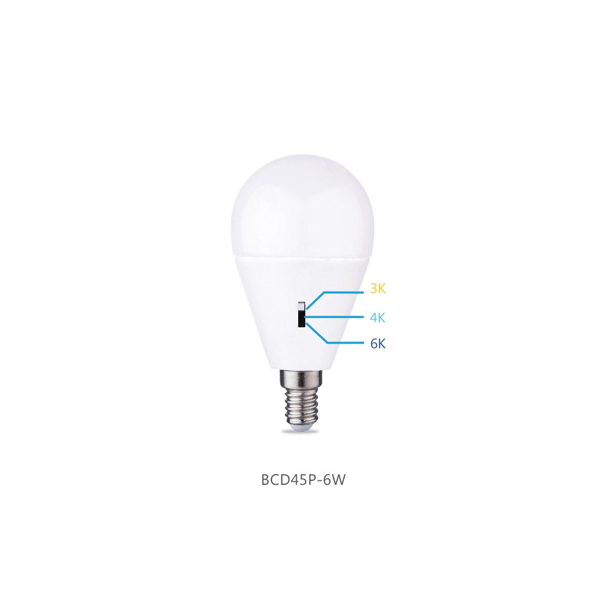 3CCT Patent Bulb BCD45P-6W